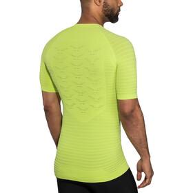 X-Bionic Effektor G2 Camiseta running manga corta Hombre, effektor green/arctic white